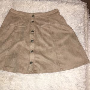 Full Tilt Skirts - 3 for $15 Button up skirt